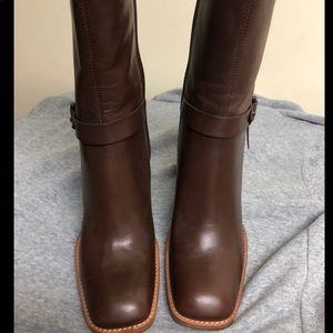 Brand new Nine West Leather boots - size 8